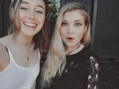 Alycia and Eliza Like and Repin. Thx Noelito Flow. http://www.instagram.com/noelitoflow