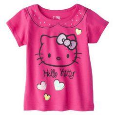 Hello Kitty Infant Toddler Girls Tee - Tutu Pink