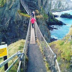 #gamesofthrones #location #january2017 #ireland #bridge #carrickarederopebridge