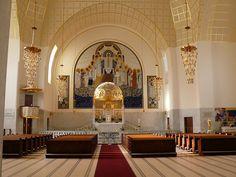 "St. Leopold Kirche ""am Steinhof"", Designed by Otto Wagner, Build Between 1903-1907."