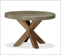 love this table for patio anyone ? like the clean looking legs and my favorite tree- eucalyptus
