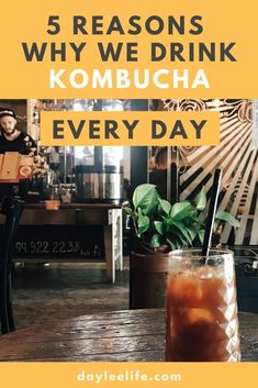 My husband and I drink Kombucha almost every day. Here are the five reasons why we enjoy our kombucha brewing and quit buying sodas. Make Your Own Kombucha, Kombucha Brewing, How To Brew Kombucha, Probiotic Drinks, Carbonated Drinks, Fermented Tea, Fermented Foods, Healthy Sugar, Healthy Drinks