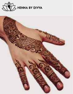 Henna by Divya | Divya Patel Toronto ON