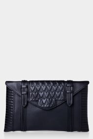 Bowery Pouchette | REECE HUDSON | BLACK. 295. WANT, from Green With Envy.