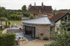 College Barn in Attleborough, Norfolk (UK) by C & M Architects (CAM), Norwich  #QuartzZinc #VMZINC #QUARTZZINC #Architecture #Project #Roofing #Extension #UK #College