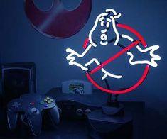 Ghostbuster Neon Light