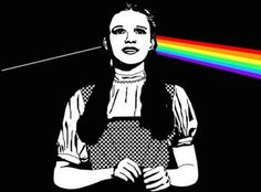 """The Dark Side of the Rainbow: A Lesson in Synchronicity - Members of Pink Floyd still deny the Dark Side of the Rainbow connection ... -Sometime in April 1995, an internet user in a Pink Floyd discussion group mentioned that """"some people down in Los Angeles"""" had set him onto a strange pairing. Simultaneously playing """"The Wizard of Oz"""" (sans sound, starting at the MGM lion's third roar) and The Dark Side of the Moon, claimed the user, would yield a slew of seemingly synchronized moments."""