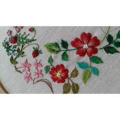 #embroidery #needleworks #서양자수