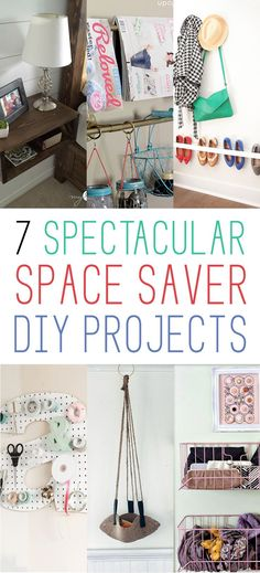 7 Spectacular Space Saver DIY Projects - The Cottage Market