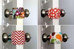 Türstopper für die Türfalte selber basteln und selber nähen