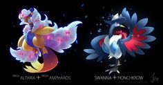 Amazing Pokefusions by the talented artist Josi!