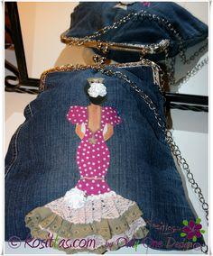 Bolsos boquilla, colección flamenca.