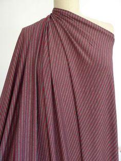 Marcy Tilton - Stripes and Dots - Macbeth Stripe Bamboo Rayon/Spandex Knit