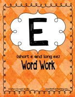 Short and Long Vowel E Activity - Have Fun Teaching