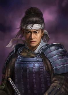 The samurai artwork 01 , Cheng Gu on ArtStation at https://www.artstation.com/artwork/K1gwy