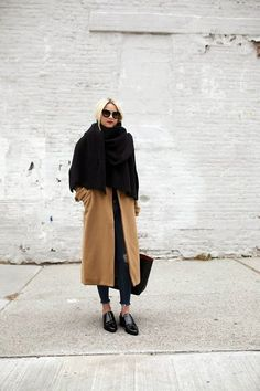 #streetstyle done right! I love the camel and black