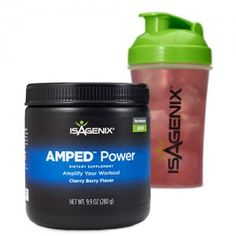 Get ready to pump up your workouts with AMPEDu2122 Power. Sports nutrition is now a well-studied discipline, and the core reason we moved into the Performance solution category for active and athletic-minded individuals. A key component of that move is a new line of performance products, specifically designed to amplify muscle, performance, energy, and delivery (AMPED).