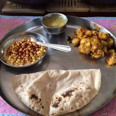 Plain simple thali. Comfort food.