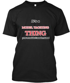 It's A Model Yachting Thing Black T-Shirt Front - This is the perfect gift for someone who loves Model Yachting. Thank you for visiting my page (Related terms: It's a Model Yachting thing, you wouldn't understand,I Love,Love Model Yachting,Model Yachting,I LOV ...)