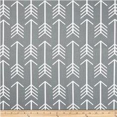 Accent Pillow - Premier Prints Arrow Cool Grey