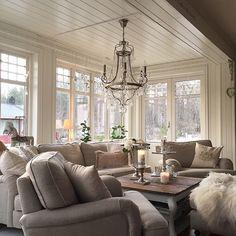 Cushy couches, neutrals
