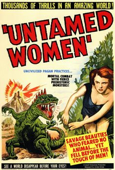 Untamed Women (1952) Savage Beauties Who Feared No Animal... Yet Fell Before the Touch of Men!