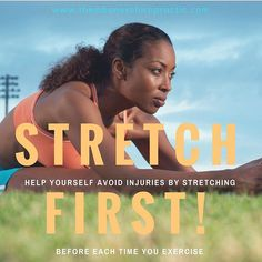 Before you 🏃💃🏻🚴🏽🤸♂️🏋️🚣♀️ please #stretchfirst // There are so many benefits to stretching! Stretching helps prevent injuries, allows more blood flow to your muscles, and offers assistance in moving  your joints in their full range of motion, just to name a few. •  •  •  •  •  #themboneschiropractic #thembones #farmersbranch #texas #chiropractor #chiropractic #physiotherapy #health #wellness #nutrition #alternativehealing  #investinyourhealth #exercise #preventinjury Injury Prevention, Chiropractic, Stretching, Muscles, Flow, Texas, Range, Nutrition, Wellness
