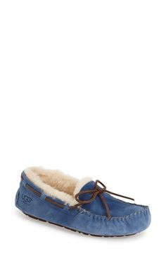 UGG Australia 'Dakota' Slipper | these are probably the most comfortable fall/winter moccasins ever