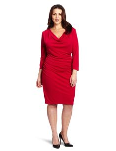 DKNYC Womens Plus-Size Matter Short Sleeve Cowl  Clothing Impulse Clothing, Shoes & Jewelry : Women : Clothing : Dresses : big sizes http://amzn.to/2luZtGE