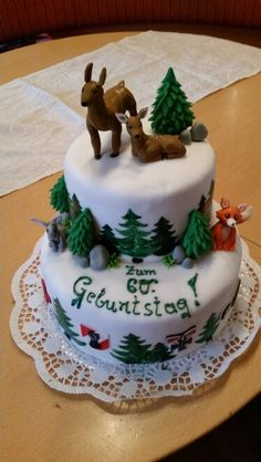 Torte Wald / Jäger