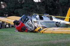 Pin for Later: Harrison Ford Blessé Après Un Crash D'avion