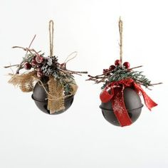 Have a jolly country Christmas with this Holly Jingle Bell Ornament! Its burlap bow and snow-dusted holly branches give it a splash of natural charm. Christmas Crafts To Make, Diy Crafts For Kids, Holiday Crafts, Holiday Fun, Christmas Stuff, Christmas Ideas, Craft Ideas, Christmas Bells, Country Christmas