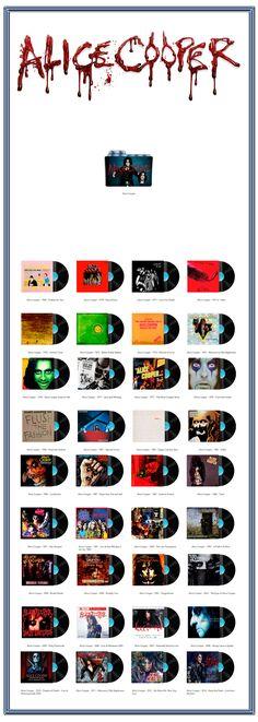 Album Art Icons: Alice Cooper Discography Icons (ICO & PNG)