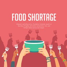 Lack of food or food shortage Global Food Security, Different Races, Food Insecurity, Social Change, Free Vector Art, Image Now, Cali, Art For Kids, Charity