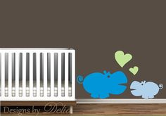 Hey, I found this really awesome Etsy listing at https://www.etsy.com/listing/153237169/hippo-wall-art-mommy-or-daddy-hippo-with