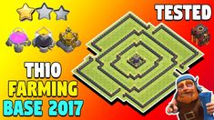 Town Hall 10 (TH10) Farming Base With Clash Of Clans New Update 2017. TH10 Anti Bowler & Anti LavaLoon Farming Base 2017. New Anti Everything TH10 Farming Base New Update 2017.   http://ift.tt/2lHtOjK    N:B: CLICK THE BELL ICON (  ) SO THAT YOU WILL GET ALL UPDATE NOTIFICATIONS!  Welcome back chief! Welcome to another brand new Clash Of Clans episode of 2017. In this video we are going to talk about Town Hall 10 (TH10) Farming Base With New Update 2017.   Well today (22nd May 2017) we have…