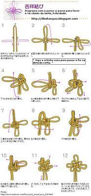 나뭇잎 복주머니(Purse with Leaves) Paracord Knots, Rope Knots, Macrame Knots, Micro Macrame, Chinese Crafts, Knot Braid, Macrame Projects, Celtic Knot, Diy Crafts To Sell
