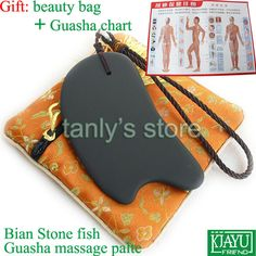 Find More Massage & Relaxation Information about Good quality! Wholesale & Retail Traditional Acupuncture Massage Guasha plate beauty face tool Natural Black Bian Stone 105X57,High Quality stone machine,China stone tube Suppliers, Cheap stone ripples from Tanly's store on Aliexpress.com