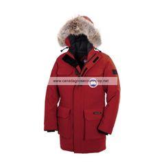 Mens Canada Goose Citadel Parka Red