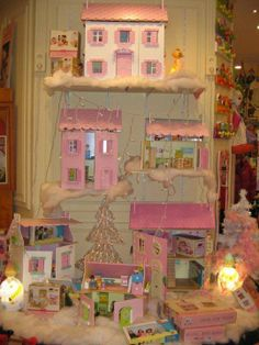 Le Bonhomme de Bois - toy store display, Le Toy Van dollhouses
