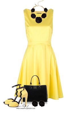 """""""And they were all Yellow"""" by mandalorean on Polyvore"""