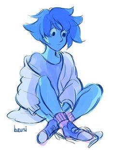 I have a question, can anyone draw me a gem Lapidot, Steven Universe Lapis Lazuli, Steven Universe Personajes, Steven Universe Characters, Lapis And Peridot, Fanart, Universe Art, Cartoon Shows, Sketches