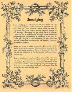 Details about Book of Shadows Spell Pages ** Parchment about Smudging ** Wicca Witchcraft BOS - Great Choices! Witch Spell Book, Witchcraft Spell Books, Wicca Witchcraft, Magick Spells, Candle Spells, Summoning Spells, Halloween Spell Book, Altar, Wiccan Rituals