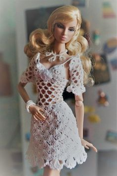 Outfit dress and bolero clothes for Fashion Royalty, Poppy Parker, Barbie, FR2 | eBay