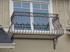 Custom french country balcony rail