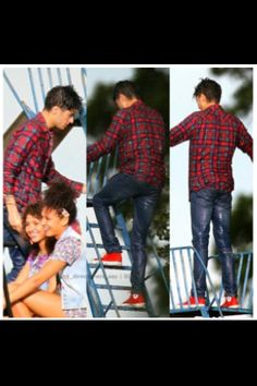 Zayn during the LWWY video shoot