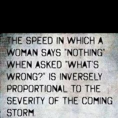 Now why can't men understand this???