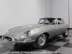 Back up wedding day car; (that is If we get our licenses before then!) 1967 Jaguar E- type