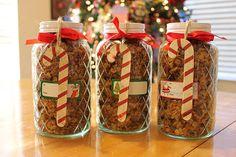 Home Made Granola Christmas Gift