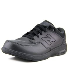 NEW BALANCE New Balance Mw813 Men B Round Toe Leather Black Walking Shoe'. #newbalance #shoes #sneakers
